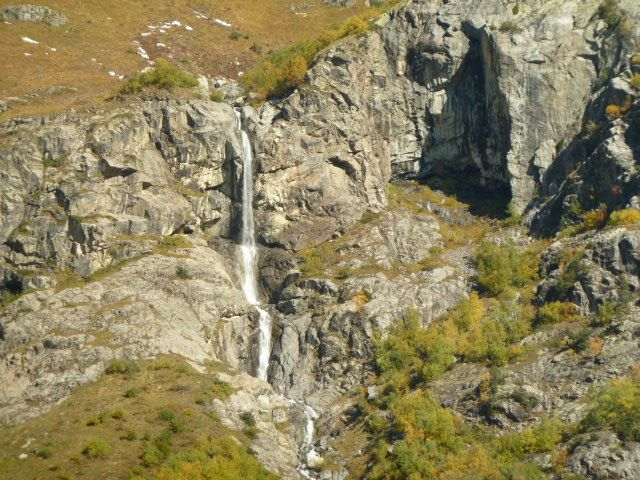 Waterfall from a distance, near Maseri