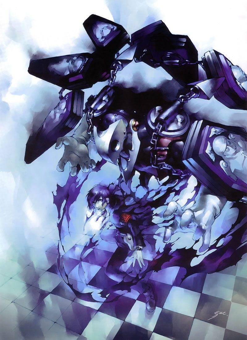 Protagonist Thanatos Yuki From Persona 3 Persona Persona 3 Thanatos Anime Images
