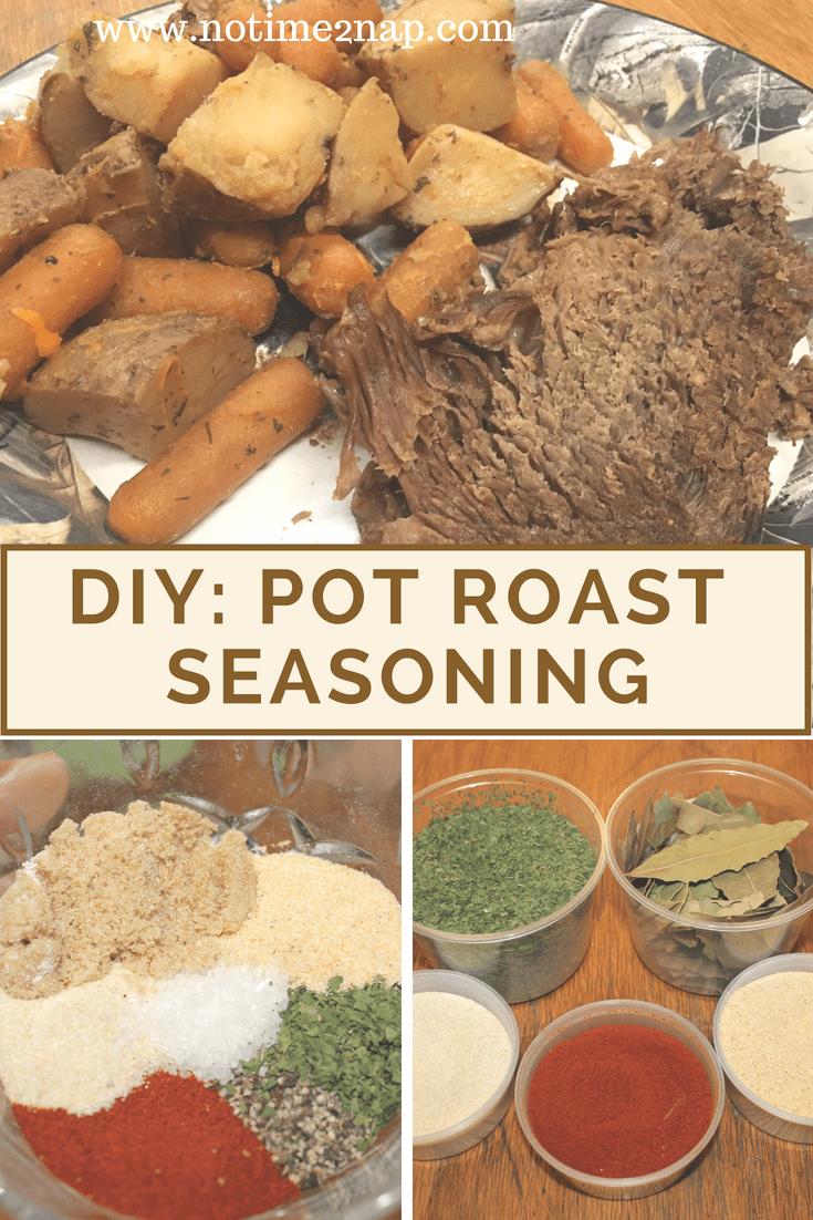 homemade pot roast seasoning #roast #roastseasoning #homemade #makeityourself #diyroast #diyroastseasoning
