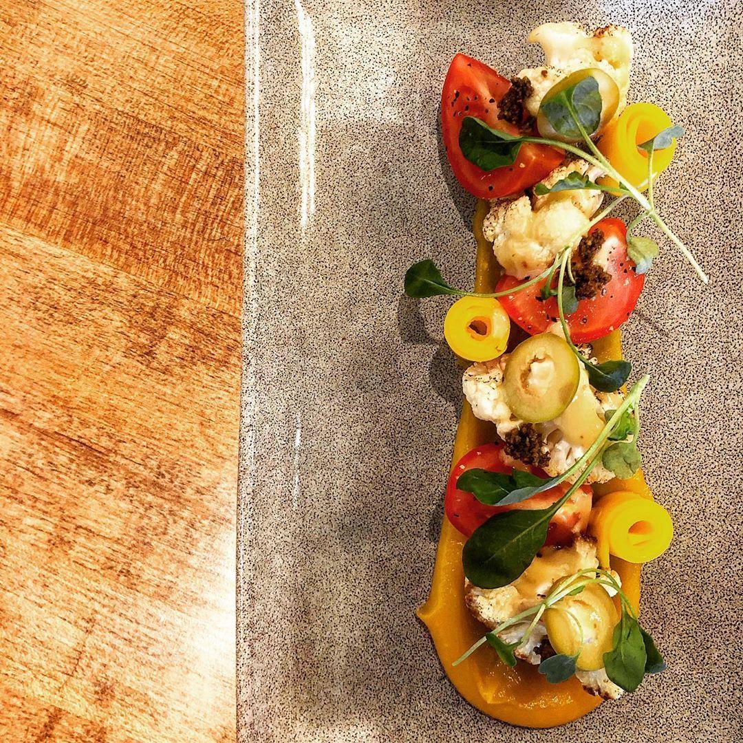 Cauliflower   Butternut   Olive   Tomato   Anchovy  #alaska #anchorage #alaskalove #ediblealaska #eatalaska #chefsplateform #cheflife #chef #chefsofinstagram #food #foodporn #foodie #artofplating&nbsp
