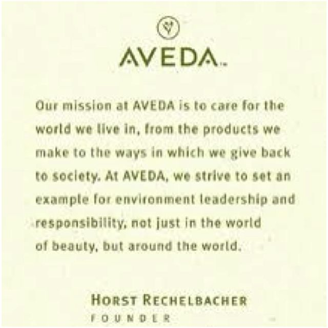 Aveda Mission Statement Aveda Aveda Makeup Aveda Hair