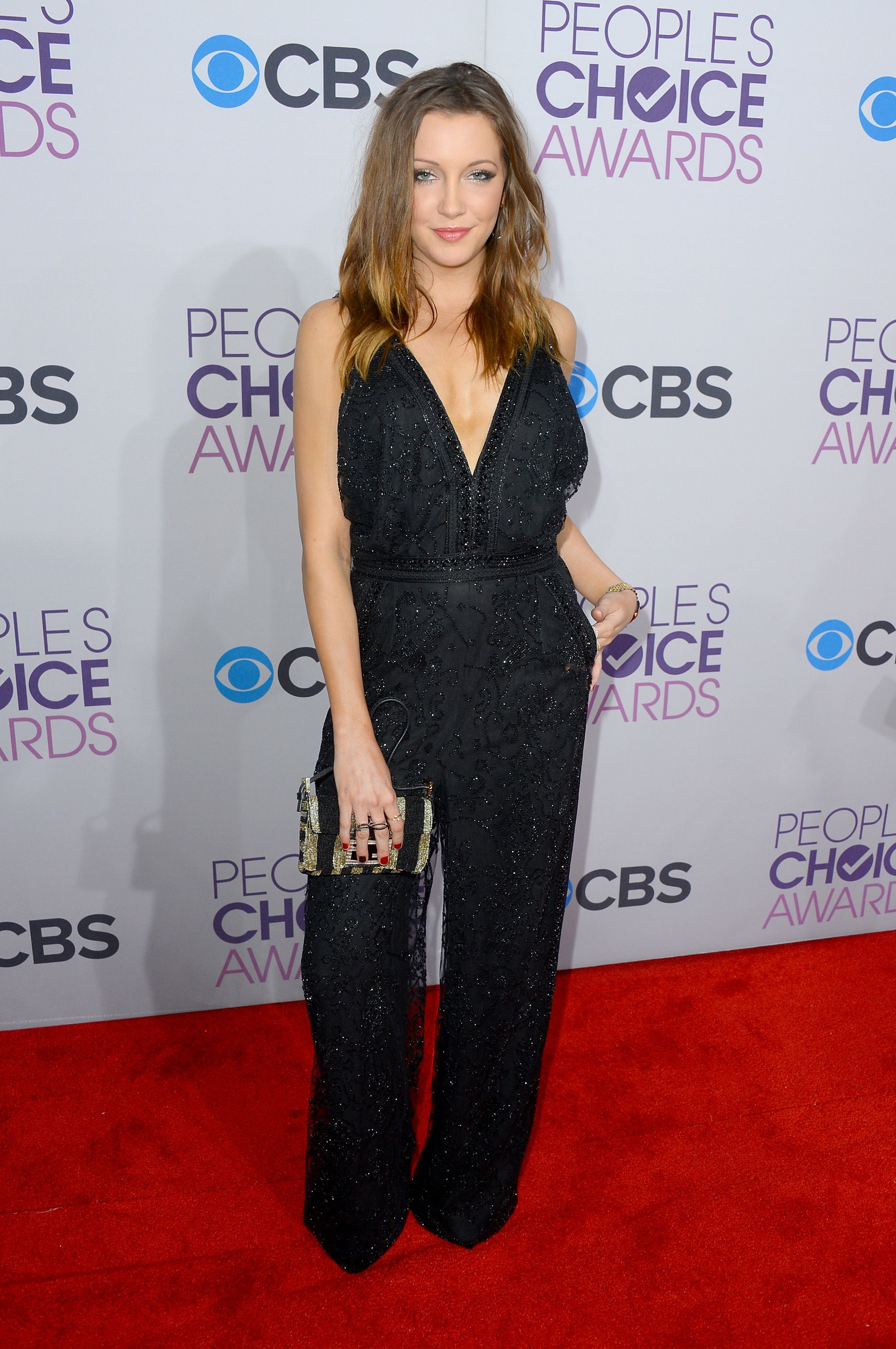 Katie Cassidy in a jumpsuit at the red carpet #PCA