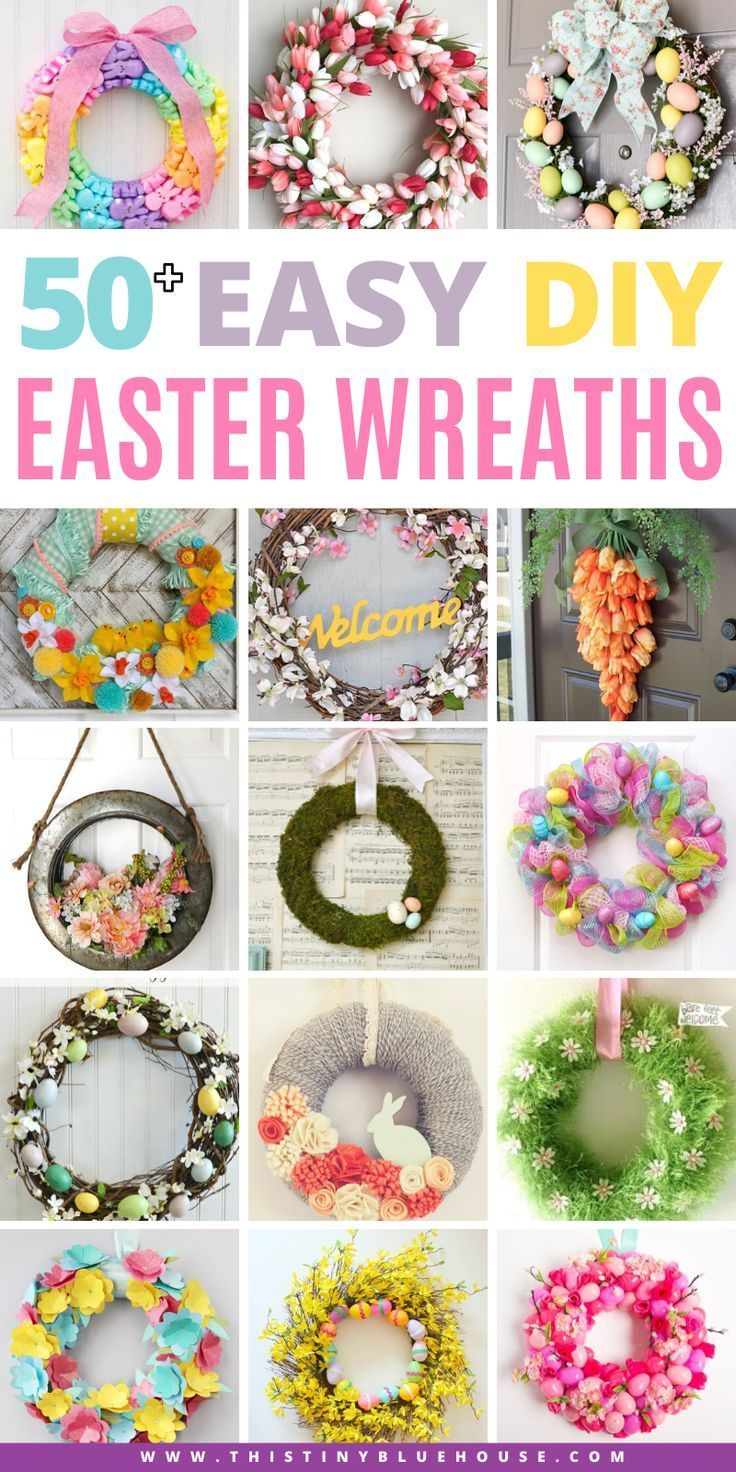 Photo of 50+ Best Gorgeous DIY Easter Wreaths