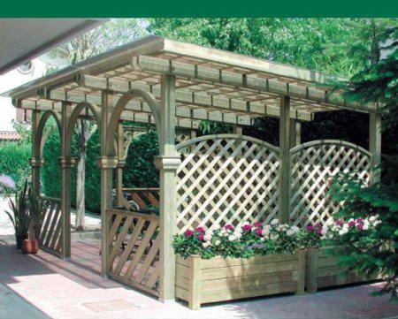 Instalación de una pérgola en el <b>jardín</b> | Flores y <b>Jardín ...