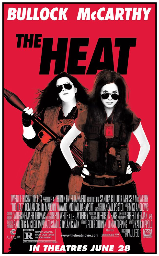 "Win advance-screening movie passes to ""The Heat"" with Sandra Bullock and Melissa McCarthy courtesy of HollywoodChicago.com! Win here: http://ptab.it/ZV0w"