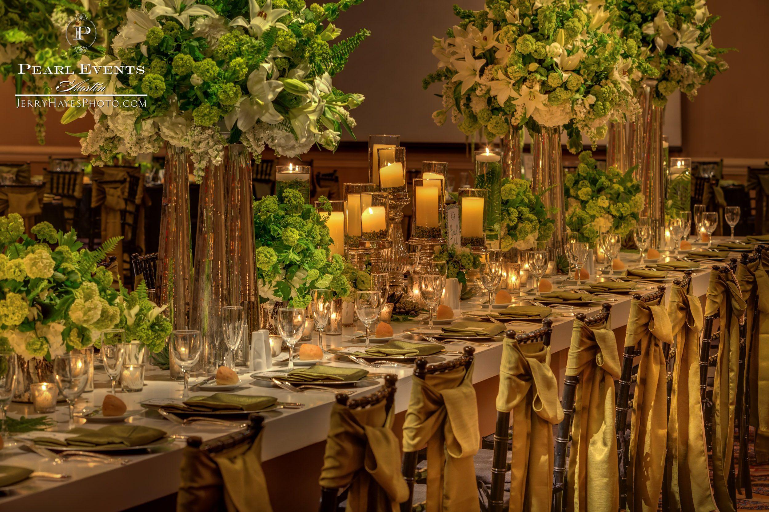 Katie Mykal Four Seasons Austin Tx Premiere Party Central Rentals Bouquets Of Austin Luxury Wedding Centerpieces Pearl Events Austin Pearl Events