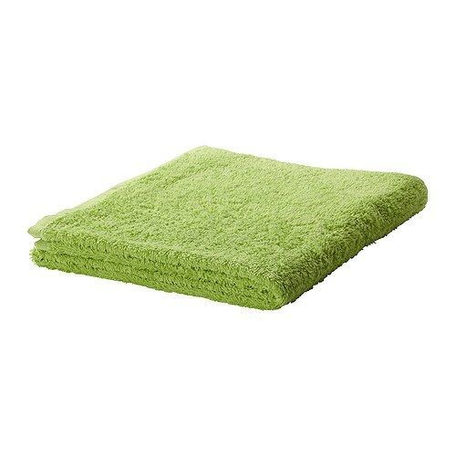 IKEA HÄREN Bath Towel Green Free Shipping #IKEA