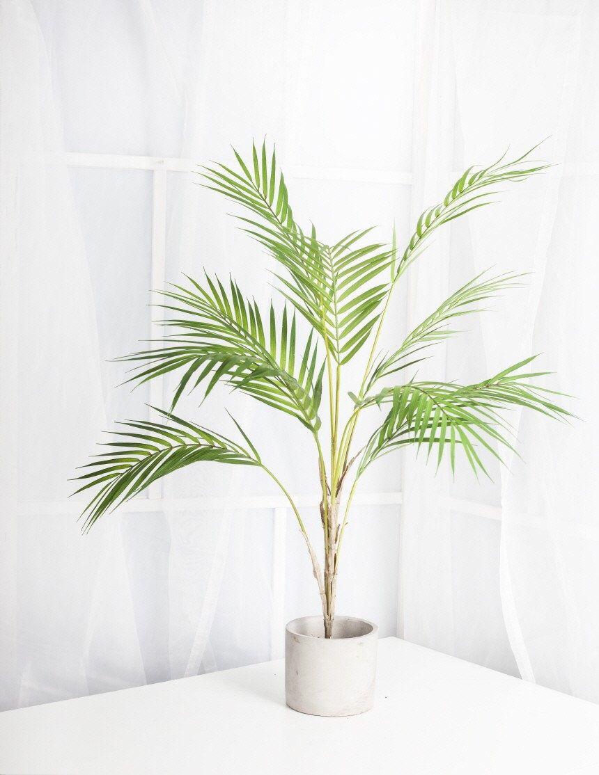 Inch artificial areca palm plant tree artificial palm leaf