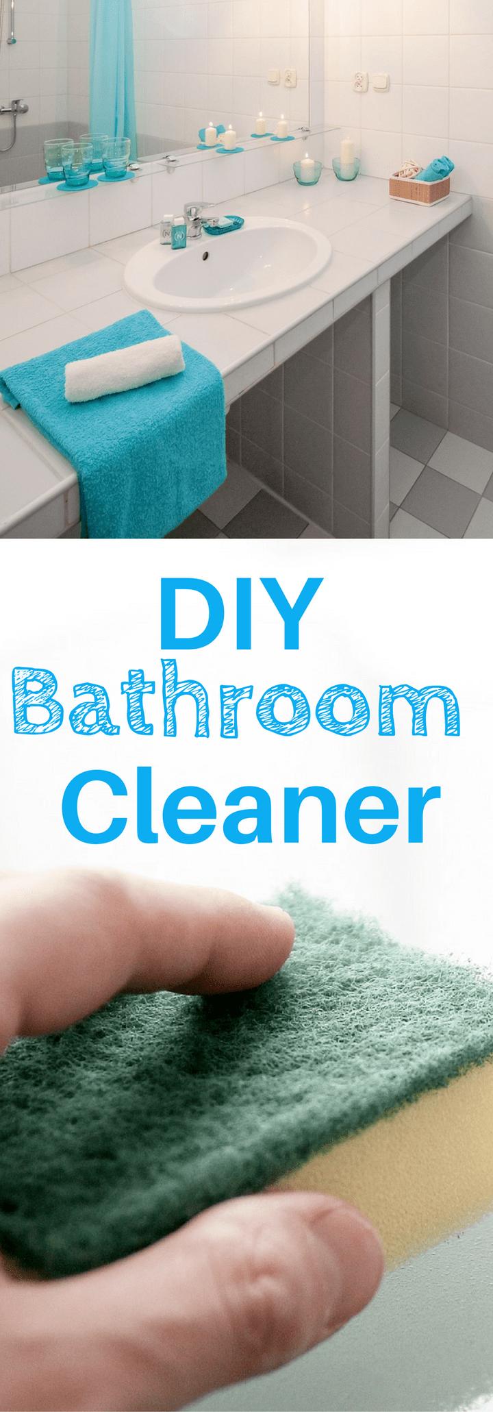 Bathroom Spray Cleaner Recipe | Bathroom spray, Diy ...