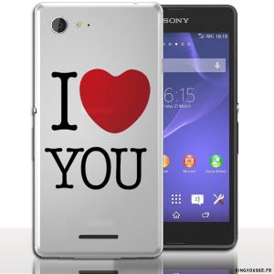 Coque Sony E3 JTM | Coque rigide. #Coque #xperia #E3 #Cover #Case #Love