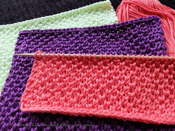 peal brioche stich knitted dishcloth pattern 12 from maschen. Black Bedroom Furniture Sets. Home Design Ideas
