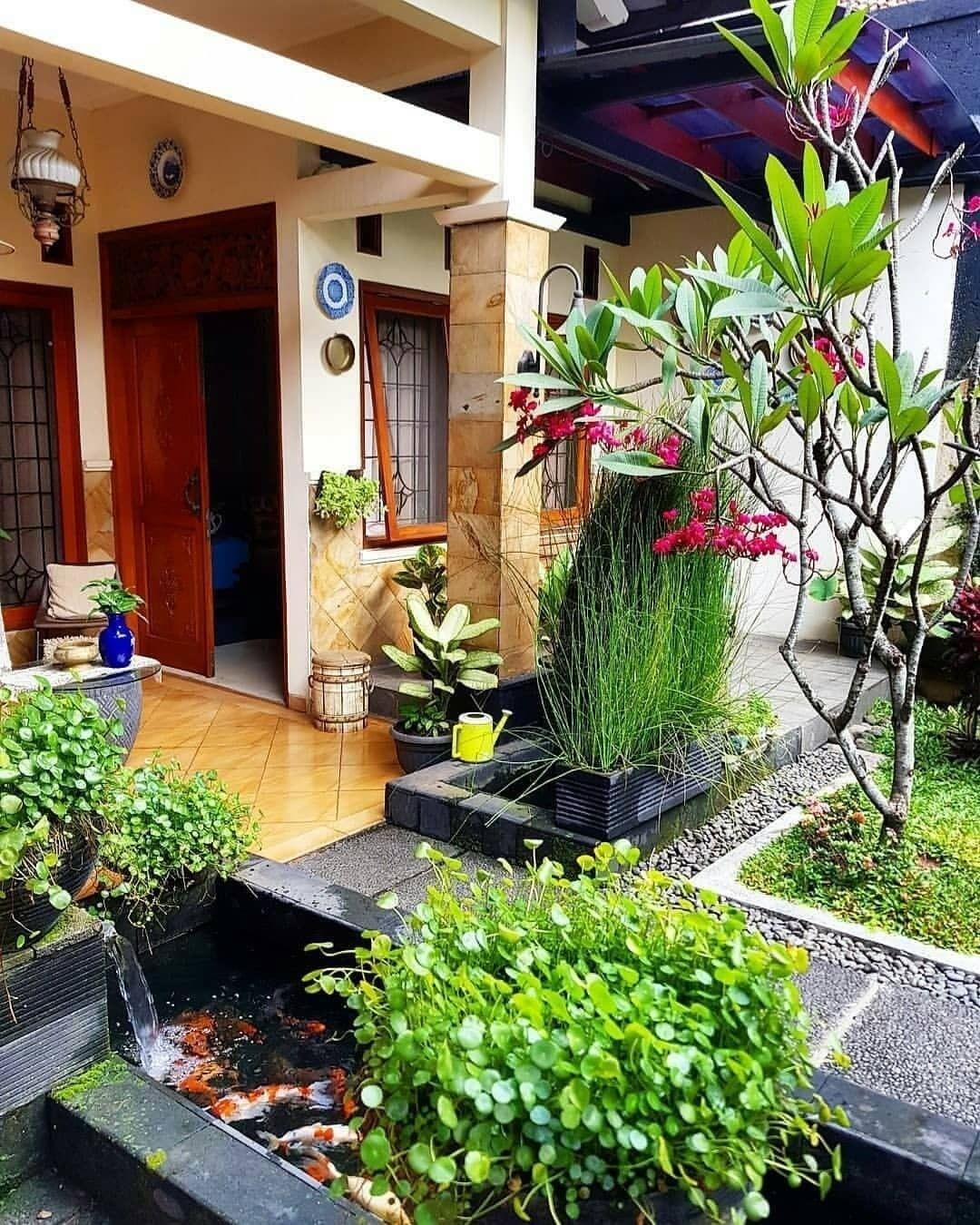 Taman Depan Rumah Kecil Minimalis