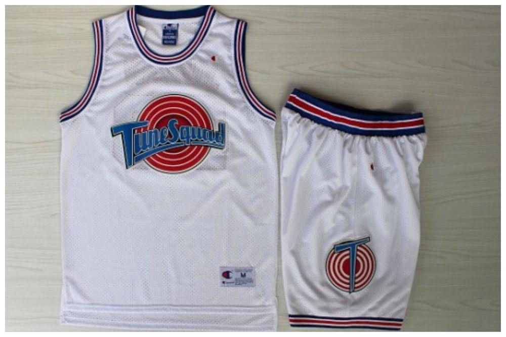 purchase cheap 36d38 2f77e Michael Jordan 23 Space Jam Tune Squad Basketball Jersey ...