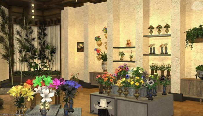Flower Gallery Ffxiv Housing Inspiration Inspiration Gallery