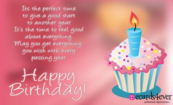 Happy Birthday Greeting Cards Happy Birthday Pinterest – Emotional Birthday Cards