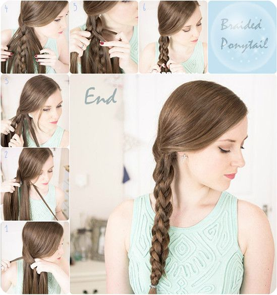 Simple And Easy Hairstyles For Straight Hair : 7 easy and chic ponytail hairstyle for girls back to school