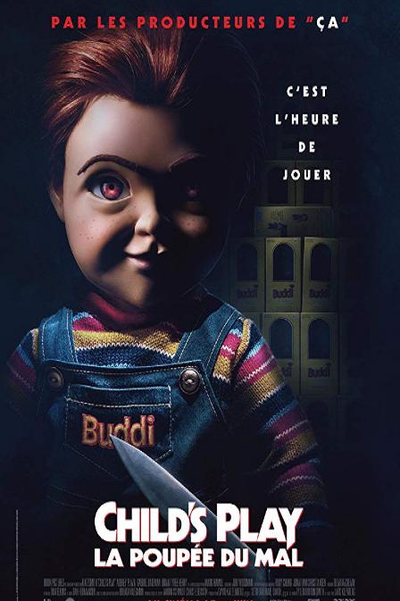 "Child/'s Play Poster Horror Movie 2019 Chucky Film Art Print 24x36/"" 27x40/"" 32x48/"""