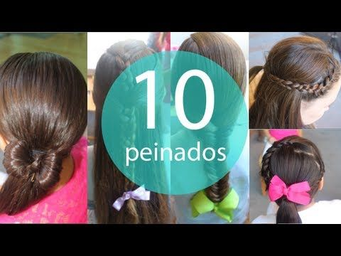 Peinados Faciles De Hacer Para Ninas De 2 A 15 Anos 3 O 4 Trenzas Recogidas En Una Hermosa Mona Youtube Childrens Hairstyles Hair Styles Peinados Faciles