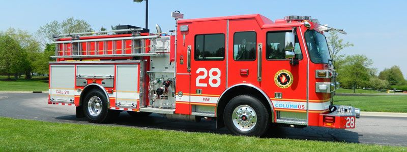 Columbus Division Of Fire Sutphen Monarch Engine Scale Model Project News Fire Trucks Police Truck Fire Dept