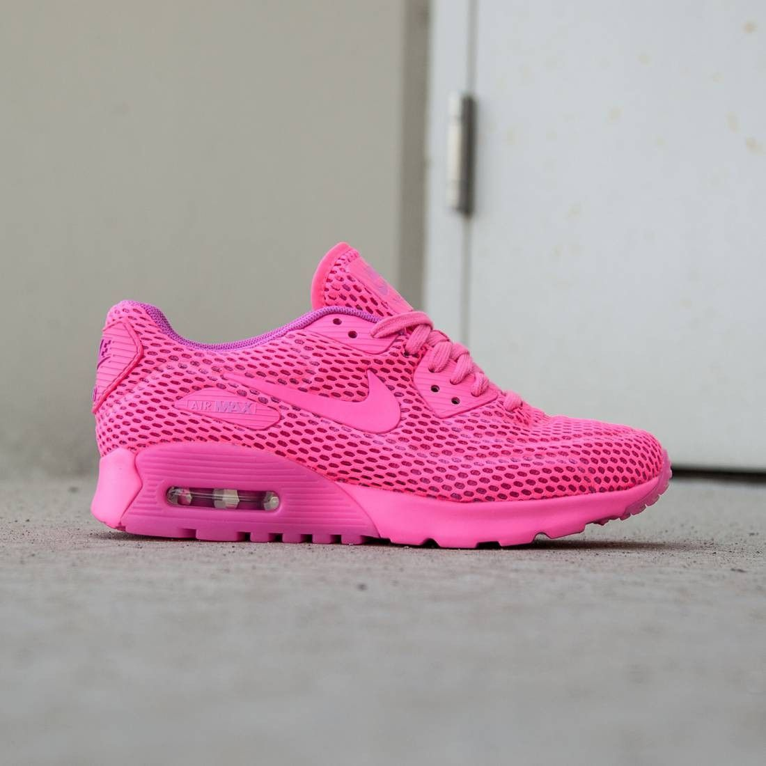 Nike Air Max 90 Ultra Breathe Running Shoes Women Pink/Pink