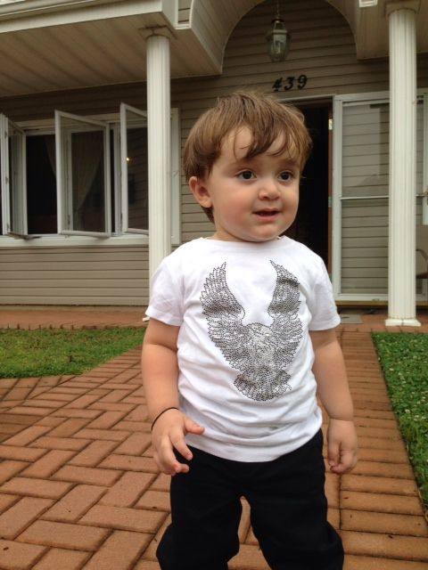 Rawyalty kids is so cute and edgy for the little ones! dress your kid like a rock star!