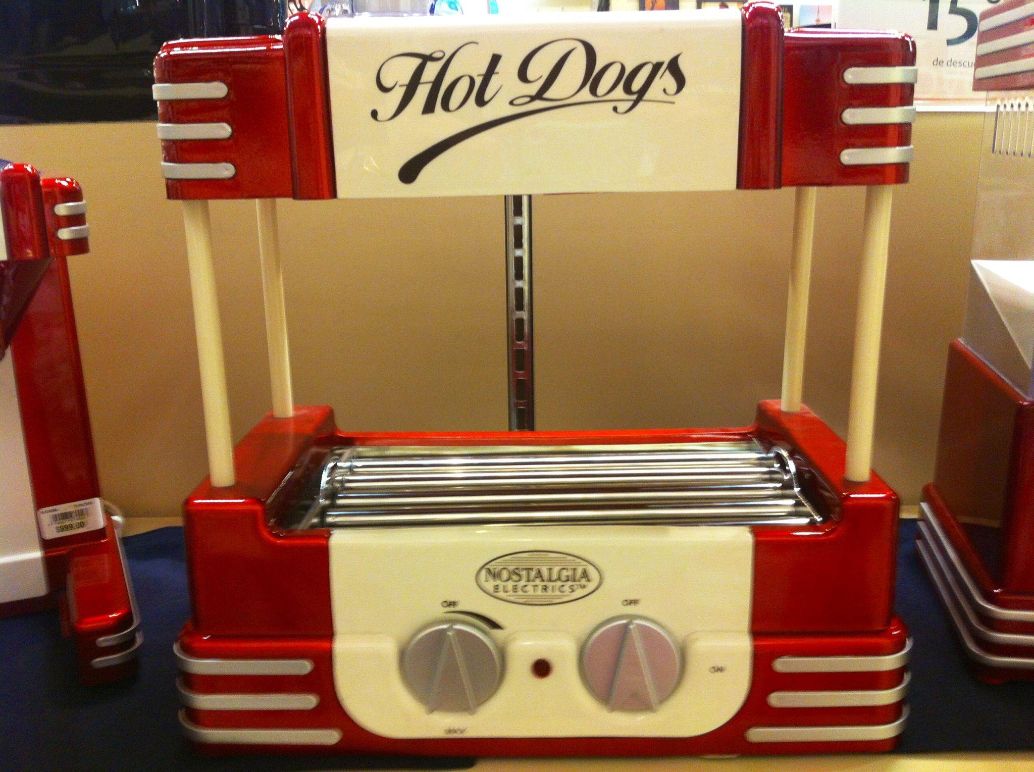 Mini maquina de Hot dogs