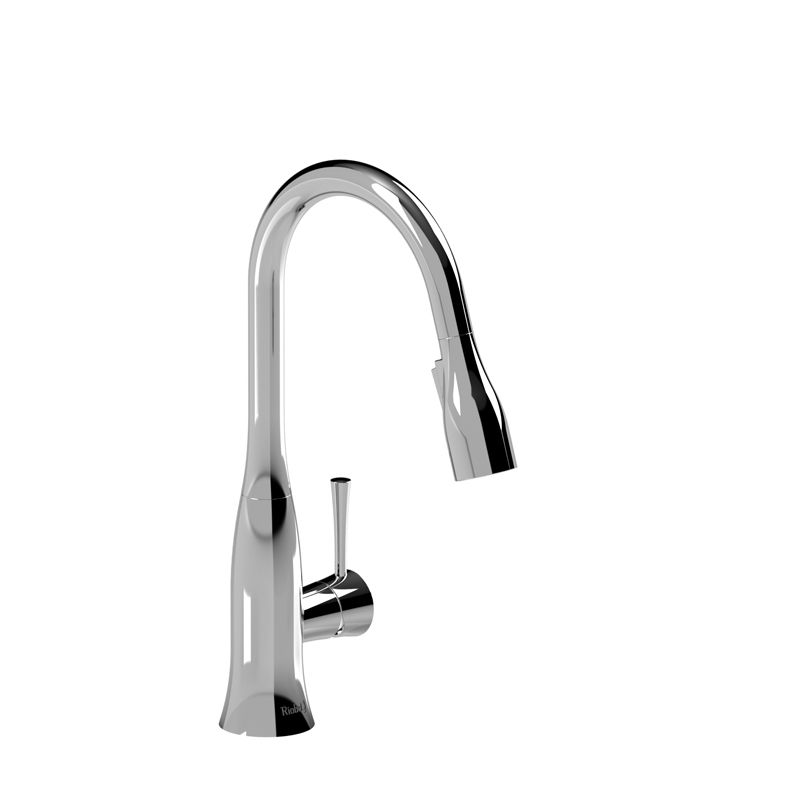 Riobel Edge Single Hole Prep Sink Faucet Chrome Sink Faucets