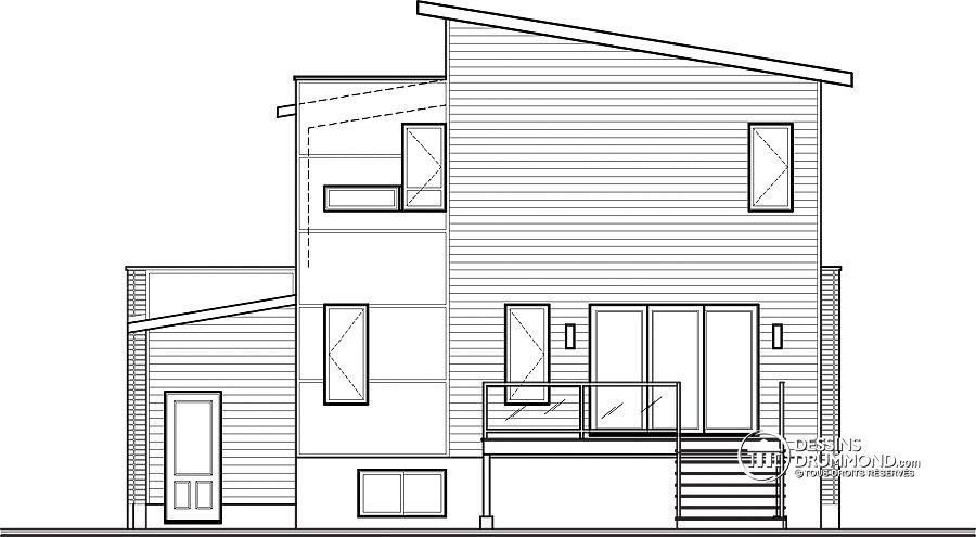 NOUVEAU MODÈLE CONTEMPORAIN SUR LA TABLE À DESSIN ! Maison cubique - dessiner son plan de maison