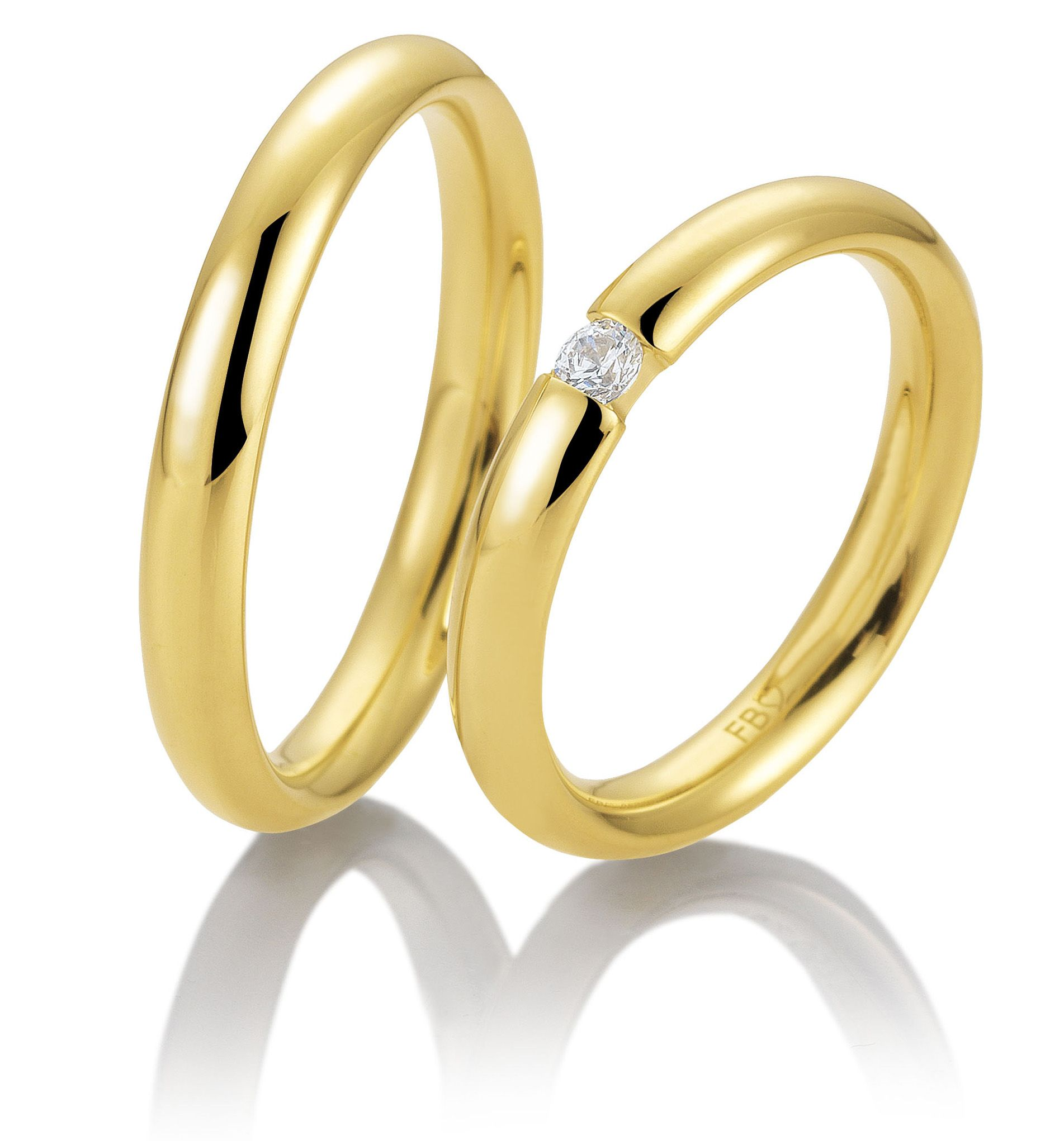Eheringe Trauringe Breuning Gelbgold 48 585 Gold