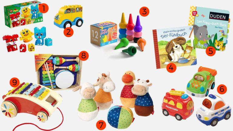 Zeit Fur Neues Spielzeug 20 Ideen Was 1 Jahrige Gerne Spielen Spielzeug Ab 1 Jahr Kinder Spielzeug Baby Spielzeug Basteln