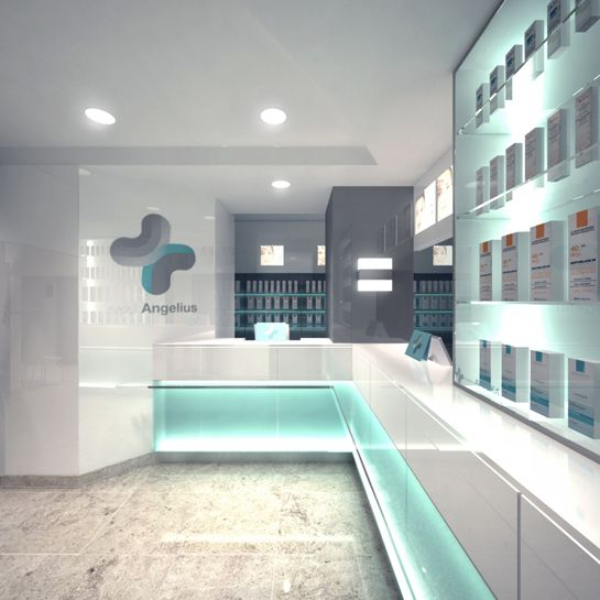 angelius pharmacy interior 2011 on behance