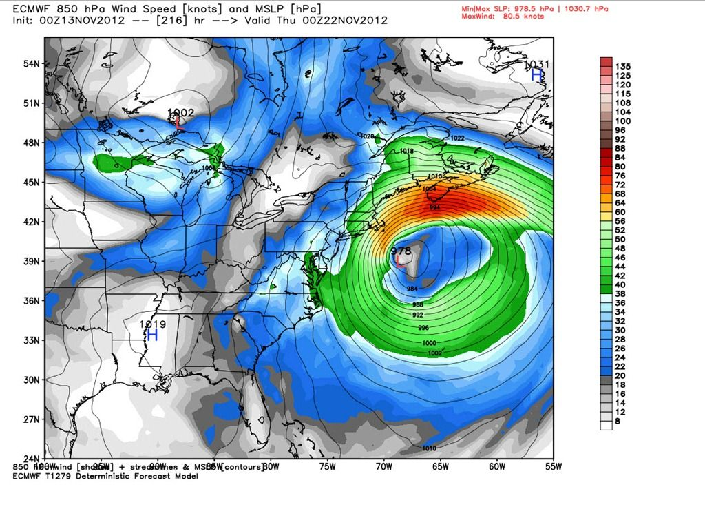 Sneaky late week storm and possible Thanksgiving Nor