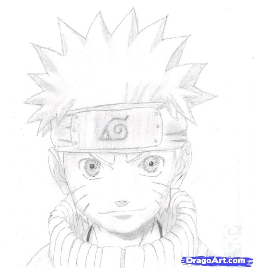 how to draw naruto | Things to help Sophia draw | Naruto ...