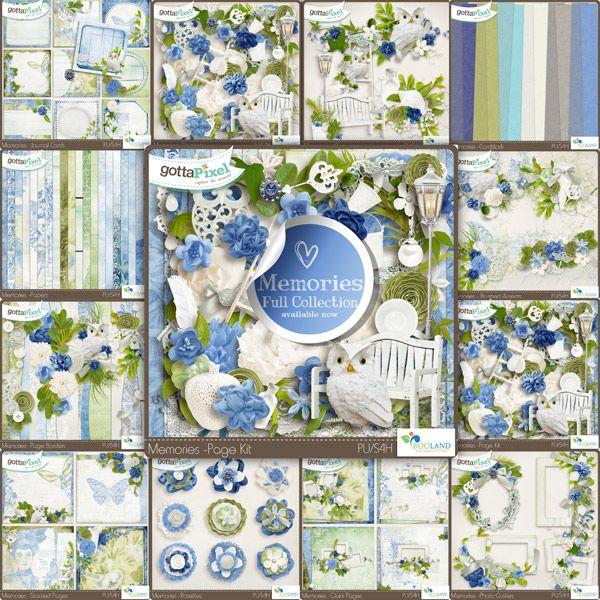 Memories-Full Bundle :: Gotta Pixel Digital Scrapbook Store by Booland