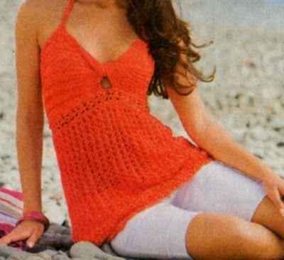 Professione Donna: Le maglie per l'estate: Top arancione