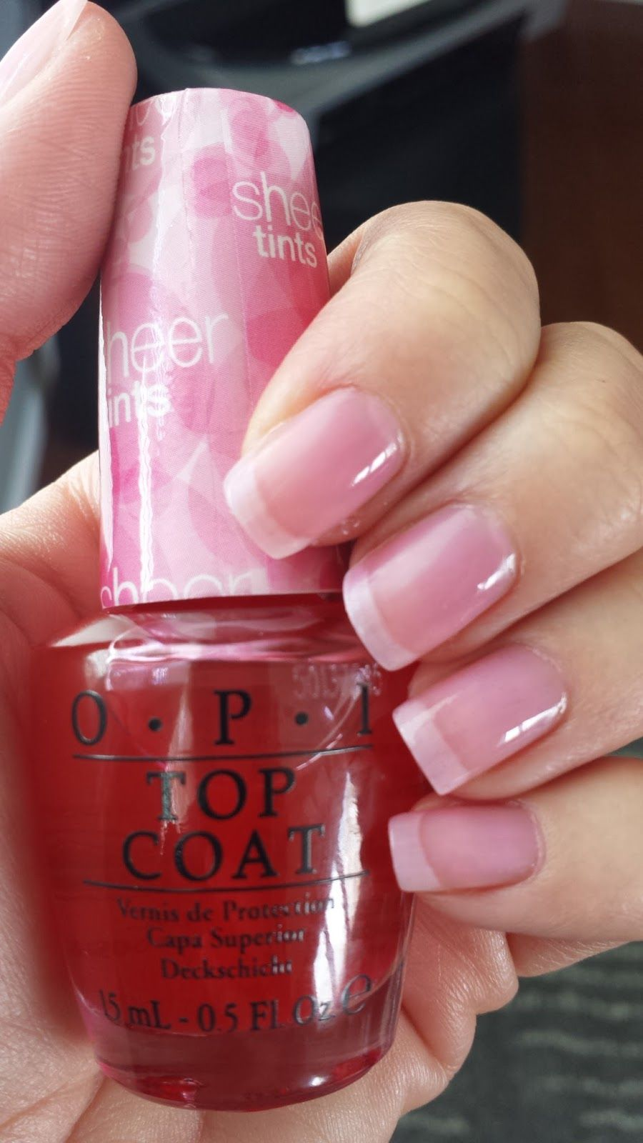 Opi Sheer Tint In Be Magentale With Me Pink Nail Polish