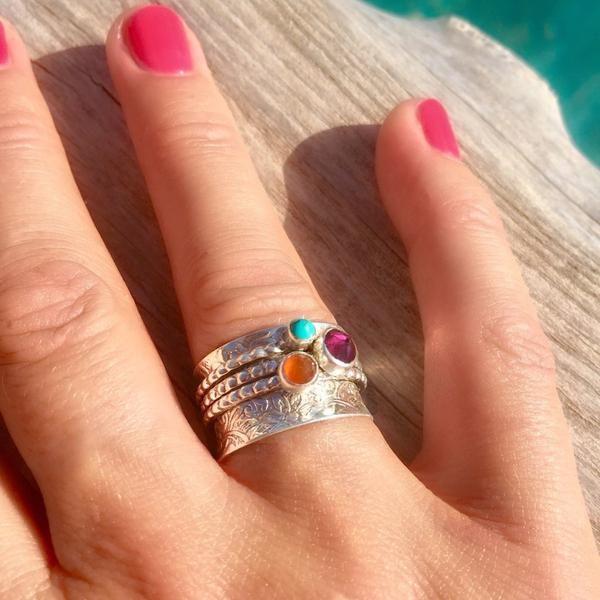 Ibiza Paradise Spinning Ring