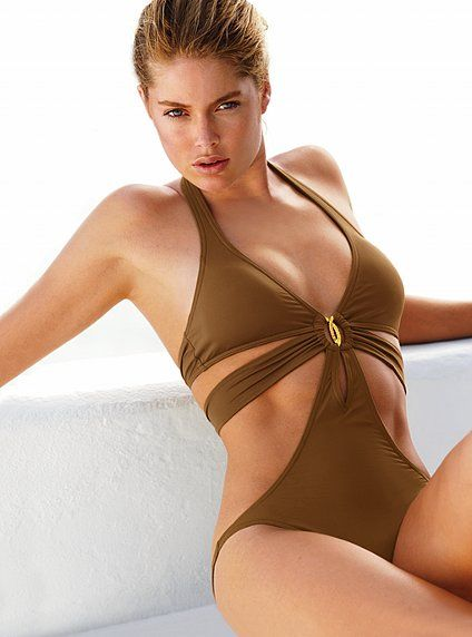 Monokini Victoria S Secret M Czekoladowy Oryginal Swimwear Trends Swimwear Monokini