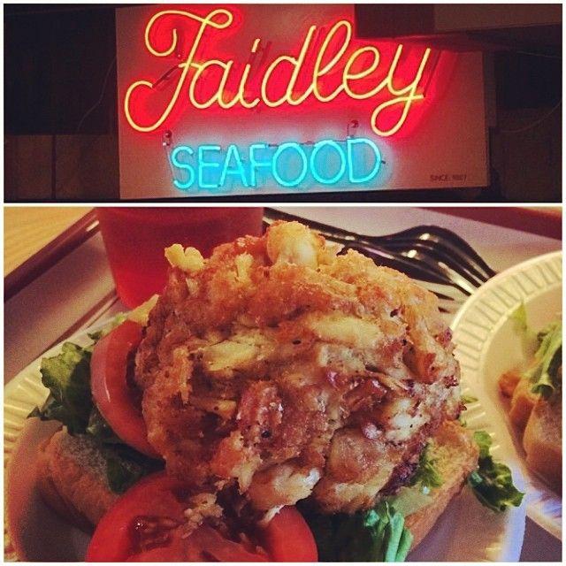 Faidley Seafood Food Best Sandwich Seafood