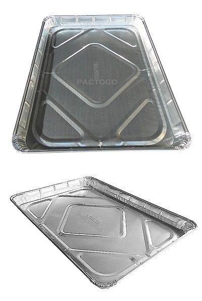 Handi Foil Half 1 2 Size Sheet Cake Pan Disposable Aluminum Foil Baking Trays Pack Of 10 Sheet Cake Pan Aluminum Baking Pans Aluminum Foil Pans