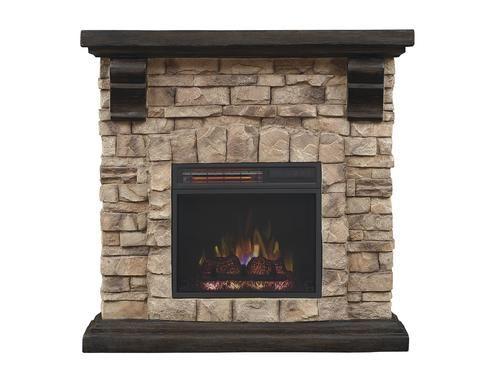 Chimneyfree 40 Quot Denali Electric Fireplace Entertainment