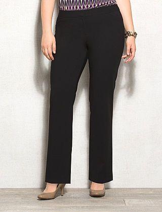 068220ec672 roz   ALI™ Plus Size SMART Fit Straight Pants