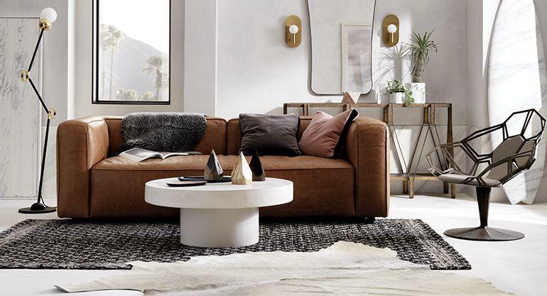 Modern Home Decor Ideas Living Room Furniture Sofas Leather