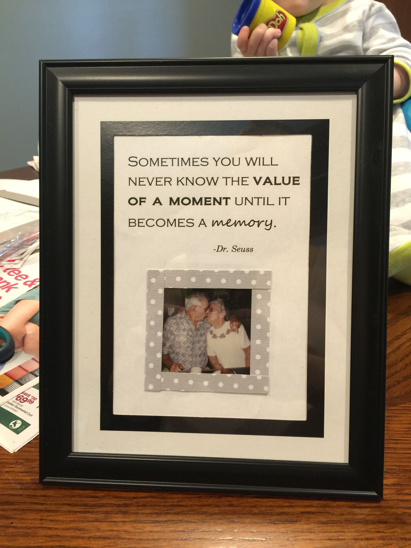 Homemade Memories frame. | Yes I really made that | Pinterest ...