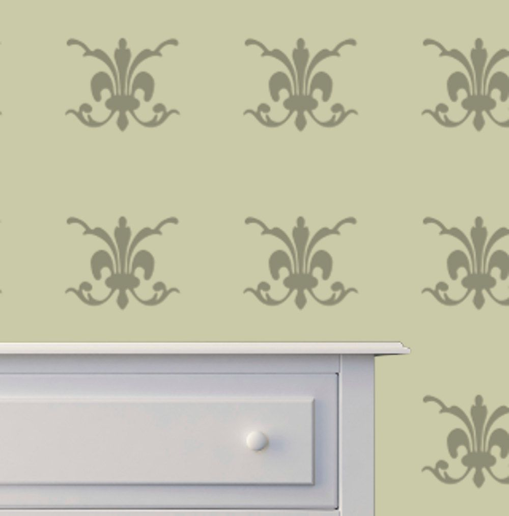 New to westlondonlaser on etsy damask wall stencil in reusable new to westlondonlaser on etsy damask wall stencil in reusable mylar wall art small to large stencils up to x inches gbp amipublicfo Image collections