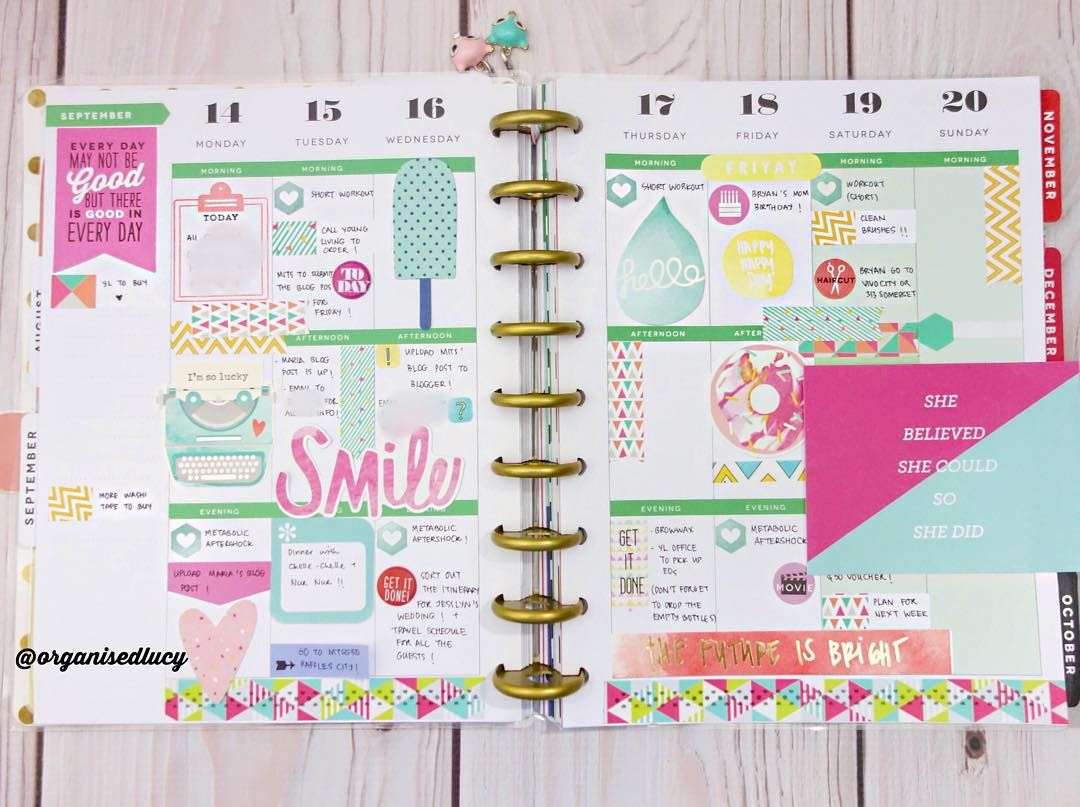 This week layout is inspired by Geo Mania Stickers Set from @shopvillabeautifful and @dearlizzy Serendipity die cuts and stickers. Love love love the pink and teal :) #create365 #thehappyplanner #happyplanner #meandmybigideas #studiol2e #plannerstamps #plannerstamping #planningwithbelinda #planneraddicts #plannerstickers #plannersupplies #plannergirls #planners #indonesianplannercommunity #beautiffyyourplanner #shopvillabeautifful #dearlizzy #diecuts #ephemera #pocketpages #mttape #mttapesg…