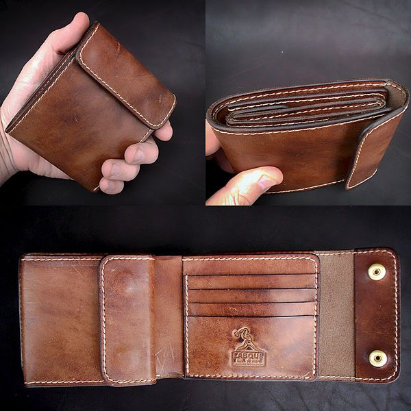Кожаные вещи ручной работы, готовые и на заказ #leatherwallets