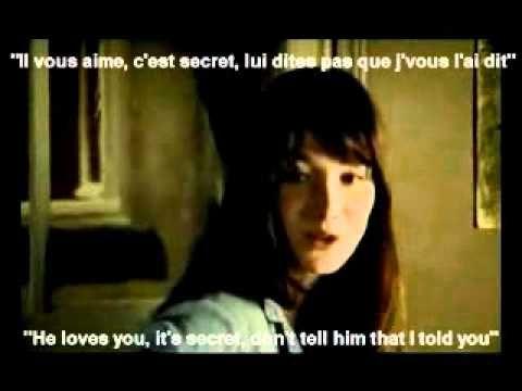 Carla Bruni Quelqu Un M A Dit Lyrics English Translation On