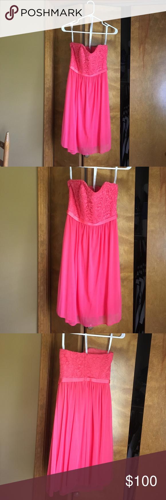 David\'s Bridal Bridesmaid dress - accepting offers