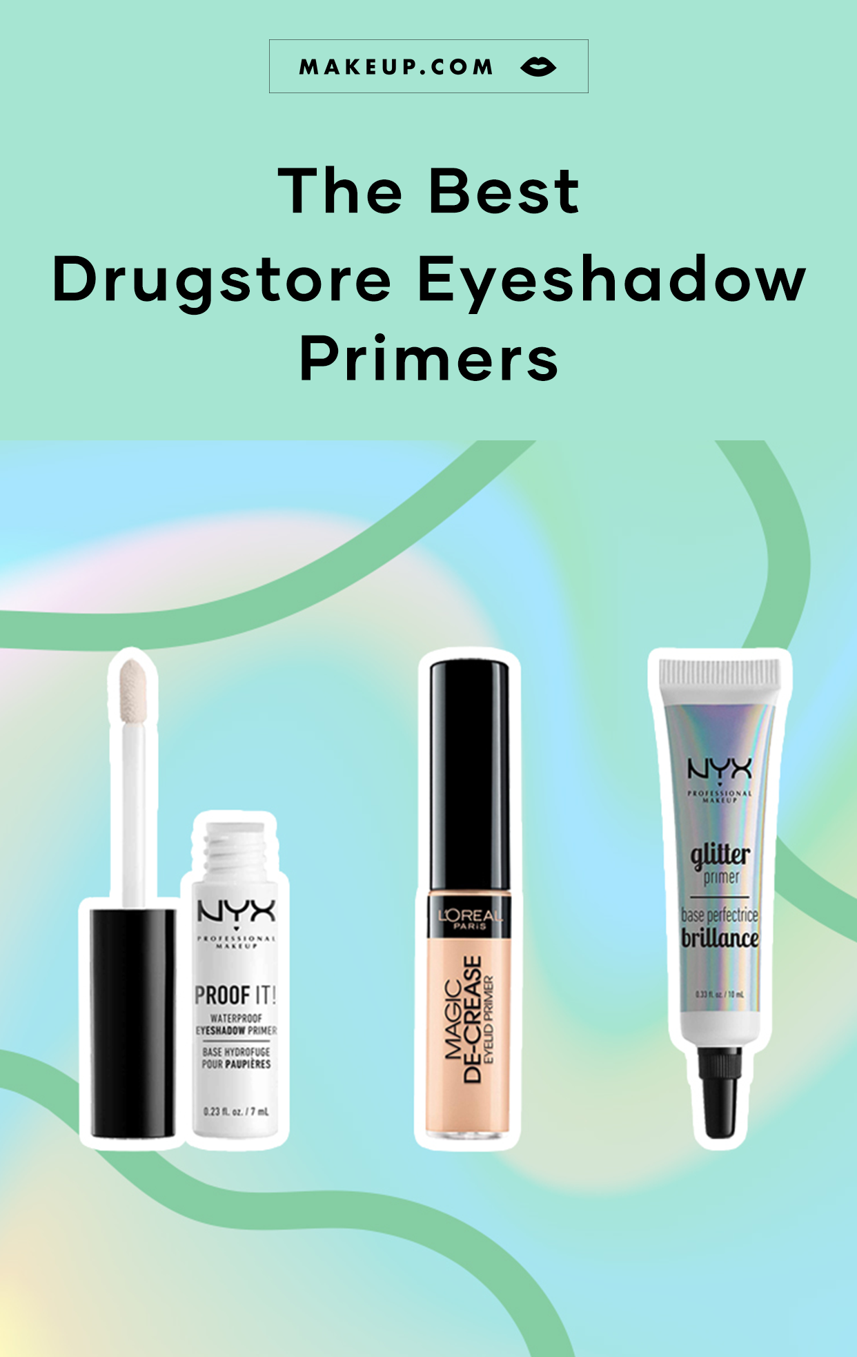 Eyeshadow primer is the key to preventing eyeshadow from